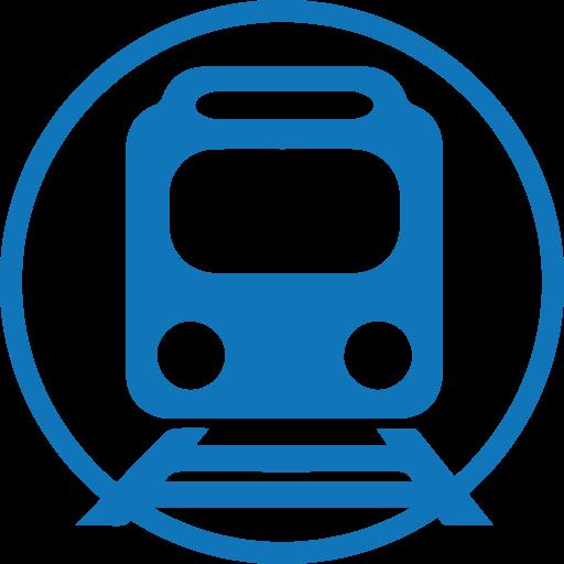 Blue Mass Transit Industry Icon | Sherwood Electromotion Inc.